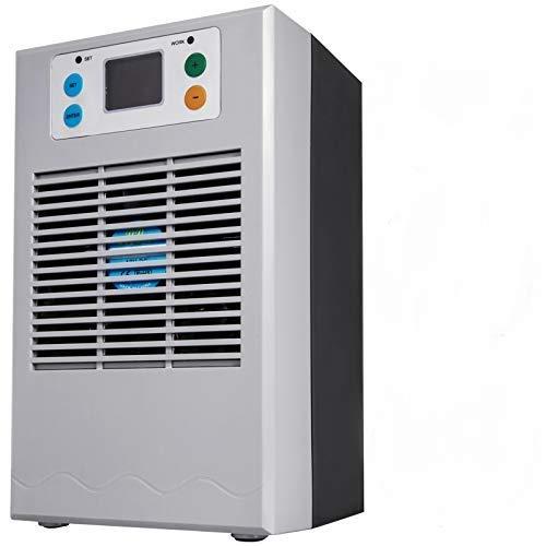 VEVOR Refrigeratore per Acquario 70 W 20 L, Raffreddatore d Acqua per Acquario 11,4 x 11,2 x 19,2 cm, Raffreddatore d Acqua per Acquario, Radiatore Marino per Acquario con Tubo da 2 m, Colore Grigio