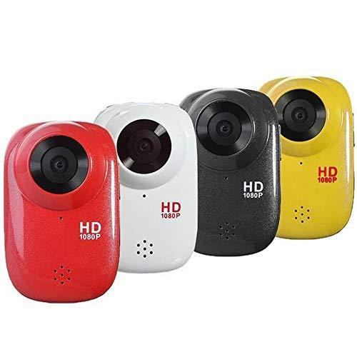 XuZeLii Cámara De Acción Deportiva Buceo DVR HD Lleno acción del Casco de la cámara 1080P Impermeable Apto para Exteriores (Color : Black, Size : One Size)