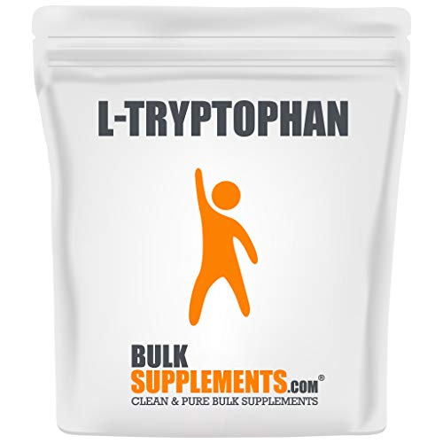 BulkSupplements.com L-Tryptophan Powder - New Mood...