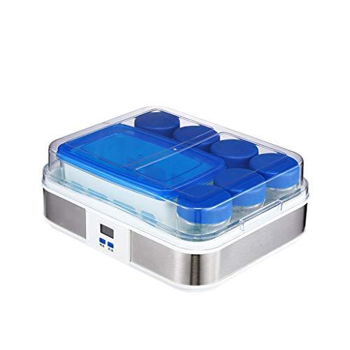 WLGQ Automatische Joghurtmaschine im griechischen Stil, multifunktionale Enzymfermentationsteiler mit großer Kapazität, Haushaltsreis und Natto-Maschine