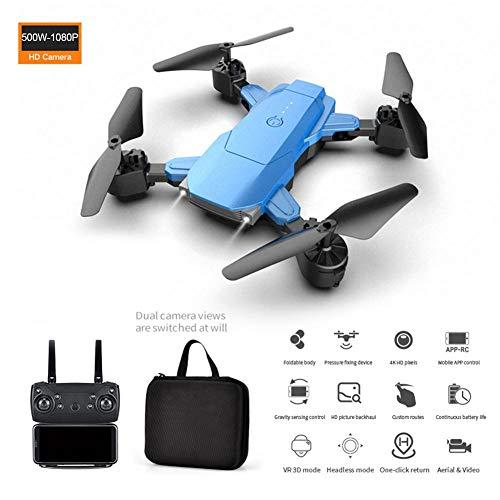 Faltbare Drohne mit 4K HD Kamera-Live-Video, RC Quadrocopter ferngesteuert mit Höhenhaltung, Handy Steuerung, Kopflos Modus für Kinder und Anfänger