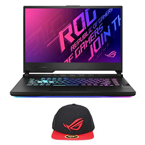 ASUS ROG Strix G15 G512LV-ES74 (i7-10750H, 16GB RAM, 512GB NVMe SSD, RTX 2060 6GB, 15.6' FHD 144Hz, Windows 10) Gaming Notebook