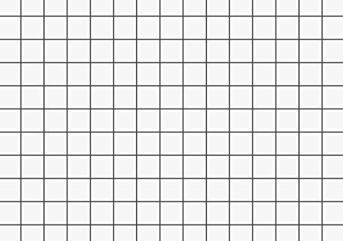 Brunnen 102280200 Karteikarte (A8 kariert, 100 Stück, eingeschweißt) weiß