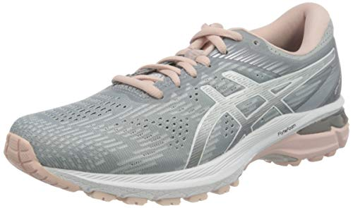 ASICS Damen Gt-2000 8 Traillaufschuh, Sheet Rock/Pure Silver, 39.5 EU
