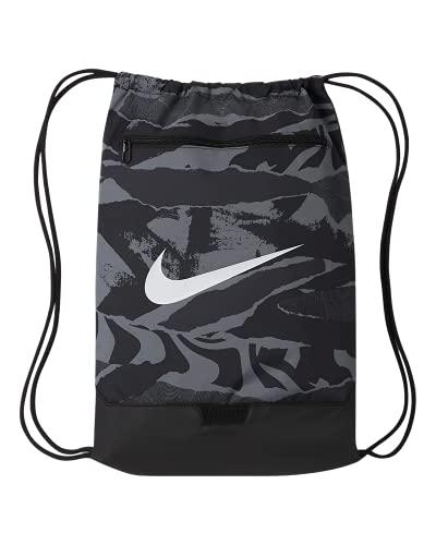 Nike Brasilia - Saco de gimnasia con estampado de camuflaje