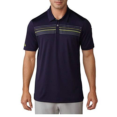 adidas Golf Climacool Polo de Rayas en el Pecho para Hombre, Golf Climacool - Polo de Rayas en el Pecho, Hombre, Color Tinta Noble, tamaño XX-Large