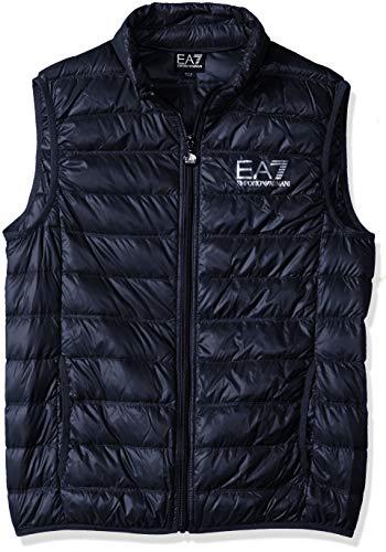 Emporio Armani EA7 Men's Train Core Down Vest, Night Blue, Medium