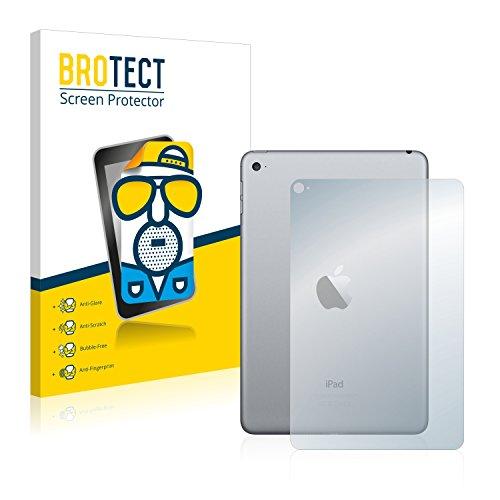 brotect Pellicola Protettiva Opaca Compatibile con Apple iPad Mini 4 2015 (Posteriore) Pellicola Protettiva Anti-Riflesso (2 Pezzi)