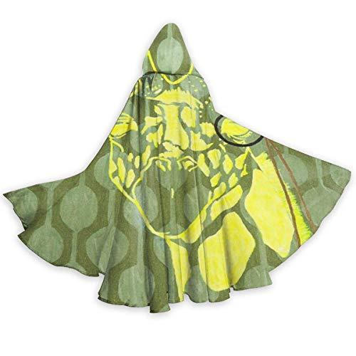 Capa de Capa para Adultos Jirafa con Gafas de Sol Capa con Capucha de Halloween de Cuerpo Entero Disfraces de Capa de fantasía de Navidad para Mujeres y Hombres