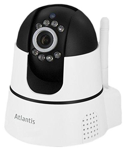 Atlantis PlusCam 7500 MT1 Telecamera IP Wireless Indoor Motorizzata HD 720P, gestione completa da App, 40 euro Gift card CHILI omaggio