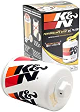 K&N Premium Oil Filter: Protects your Engine: Compatible with Select JAGUAR/LAND ROVER/LINCOLN/FORD Vehicle Models (See Product Description for Full List of Compatible Vehicles), HP-1014