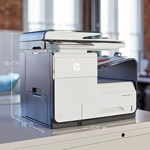 HP PageWide Pro 477dw Color All-in-One Business Printer with wireless & 2-sided duplex printing (D3Q20A)