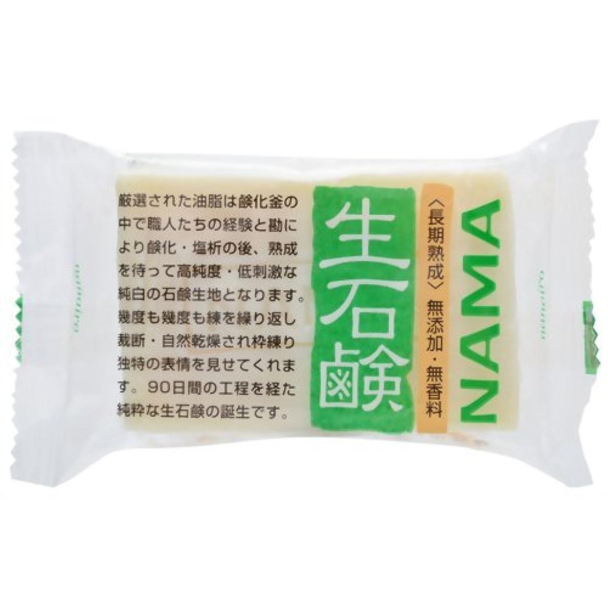 稚魚近所のふつう生石鹸NAMA 100g