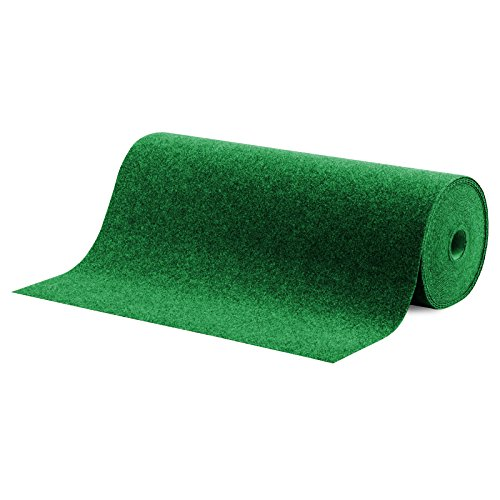 casa pura Moquette d'extérieur Spring Vert au mètre | Tapis Type Gazon Artificiel - pour Jardin, terrasse, Balcon etc. | revêtement de Sol Outdoor | 100x200cm