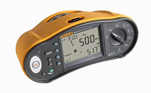 Fluke 1662 Multifunktion Tester für CEI64/8, RCD Typ A, AC, G, S, Isolierung 500.1000V, Loop
