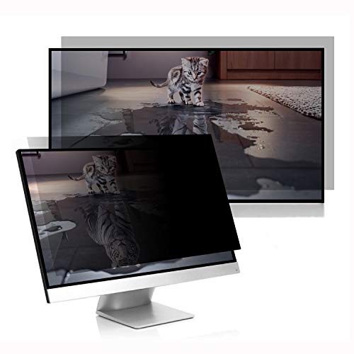 C1st Blickschutzfolie, 27 Displayfilter Blickschutzfilter für Breitbild Computermonitore, Sichtschutz Displayschutz Privacy Screen Filter (27
