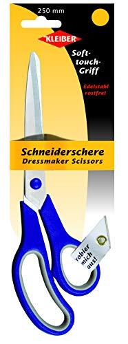 Kleiber - Forbici da Sarto in Acciaio Inox 250 mm, Blu