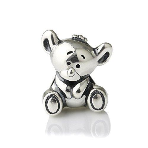 Amazon.com: Aussie Koala Bear Sterling Silver Charm Bead S925 ...