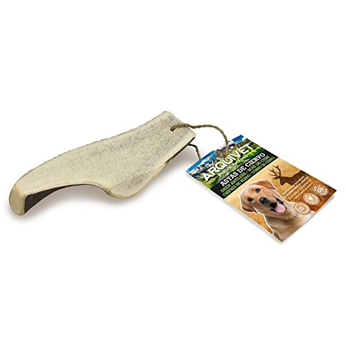 Arquivet Media asta de ciervo - mordedor para perros - L (81-120 g)