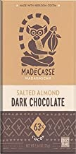 Madecasse Dark Chocolate 63% Salted Almond -- 2.64 oz - 3 pack
