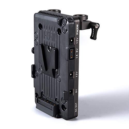 Tilta V-Mount Battery Plate TA-BTP2-V-G 15mm LWS Rod Adapter To Power The BMPCC 4K 6K Camera