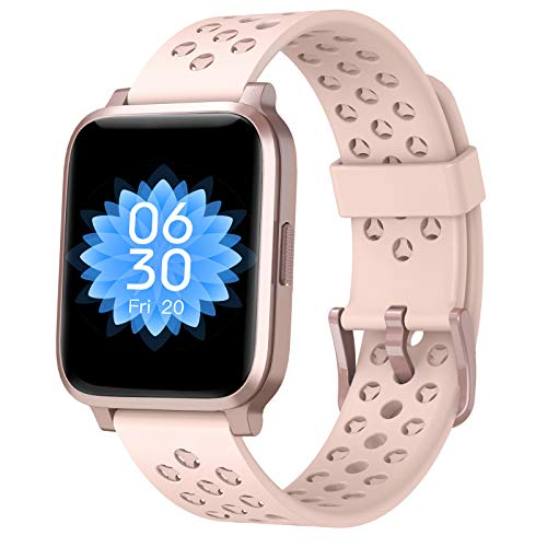 ASWEE Smart Watch for Women Men, Fitness Trackers with Blood Oxygen, Heart Rate and Sleep Monitor, Pedometer Step Counter Watch with 5ATM Waterproof, Smartwatch Compatible with iPhone Android Phones