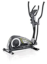 Kettler elliptical cross trainer Axos Cross M, gray / yellow, 07647-900