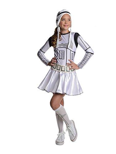 Star Wars Storm Trooper Tween Costume Dress, Medium