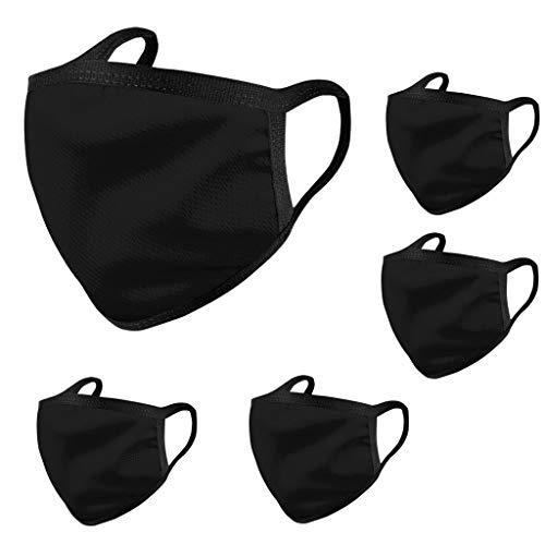 Pany 10 Stück Face Shield, Wiederverwendbar Waschbare Für Männlich Frau für Laufen,Radfahren,Wandern,Klettern