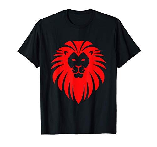 Der Löwe / The Lion / Geschenk, Löwenkopf, Sternzeichen, Leo T-Shirt