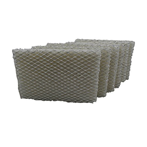 Air Filter Factory 6 Pack Compatible Replacement for Holmes/Family Care HWF100, HWF100CS, HWF100PDQUC6, HM630, HM630RC, HM729, HM4600 Humidifier Filter