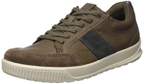 Ecco Herren Byway Sneaker, Braun (Dark Clay/Dark Clay/Magnet 51978), 45 EU