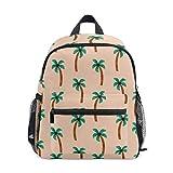 Summer Palm - Mochila escolar para niños y niñas, mochila escolar para niños y niñas, 3 a 8 años de edad preescolar