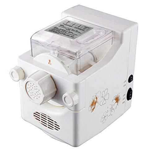Elektrische Nudelmaschine vollautomatisch, Pastamaker mit Wiegefunktion inkl. 9 Schimmel 160w