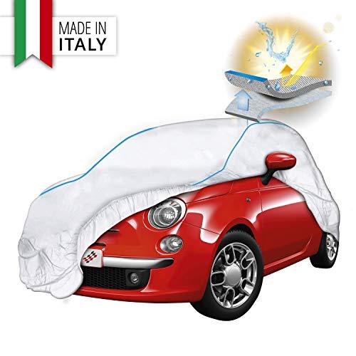 Walser Premium Autoplane Sun Reflect, UV-Schutzplane Auto, Hitzeschutz Auto, Sonnenschutz Vollgarage, Autoabdeckung, Autogarage, Größe 1