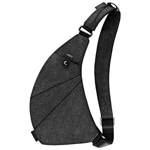 Sling Bag Crossbody Chest Shoulder Anti Theft Travel Bag for Men Women Boys Waterproof
