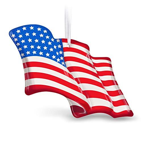 Hallmark Andenken Ornament, US-Flagge