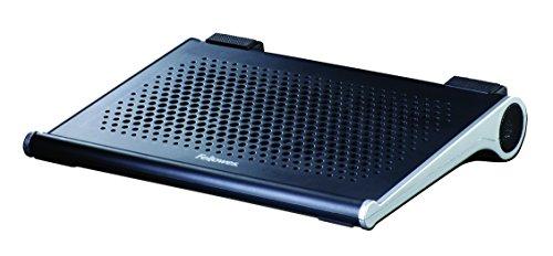 Fellowes 8018601 - Base de refrigeración para Ordenador portátil de 14', Negro