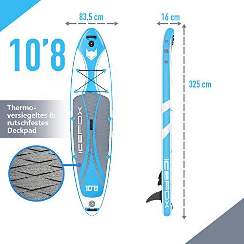 Das Icefox SUP 10'8″ - 7