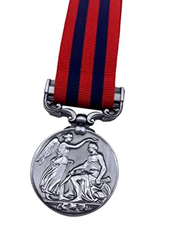Hornbeam Militaria - Replica 1854 India General Service Medal, Full Size, Copy, Antique Finish