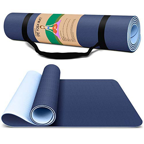 Yoga Mat Exercise Fitness Mat - ...