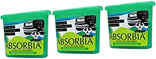 Absorbia Moisture Absorber and Odour Buster with Activated Charcoal Family Pack - 300 g (Pack of 3)
