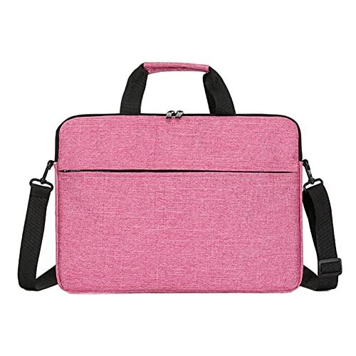 Berrywho 15.6-Zoll-Laptop-Tasche Laptop-Hülle-Laptop-Gehäuse Rose rot