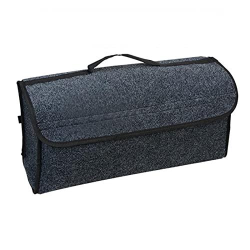 WANGLIAN Caja de Almacenamiento de la Caja de Almacenamiento del paño de la Fieltro de la Caja del Tronco del Coche Plegable portátil Auto Bolsas de contenedor