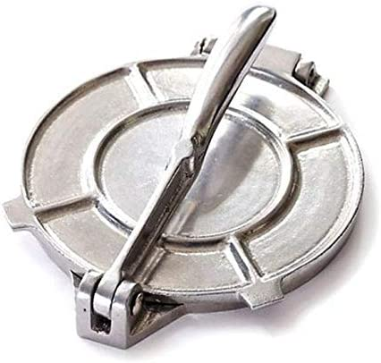8-inch Cast Aluminum Direct sale of Fort Worth Mall manufacturer Tortilla Silver Press Metal