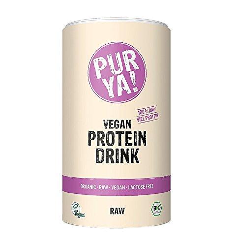 Purya Biologische Vegan Eiwitdrank ruwe Energy, per stuk verpakt (1 x 550 g)