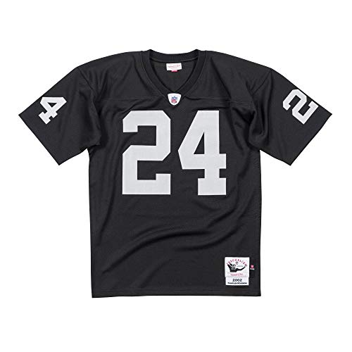 Charles Woodson 2002 Authentic #24 Jersey Oakland Raiders (Black, XXXL)