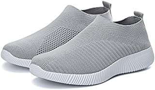 Sneakers Vulcanized Shoes Sock Sneakers Women Summer Slip On Flat Shoes