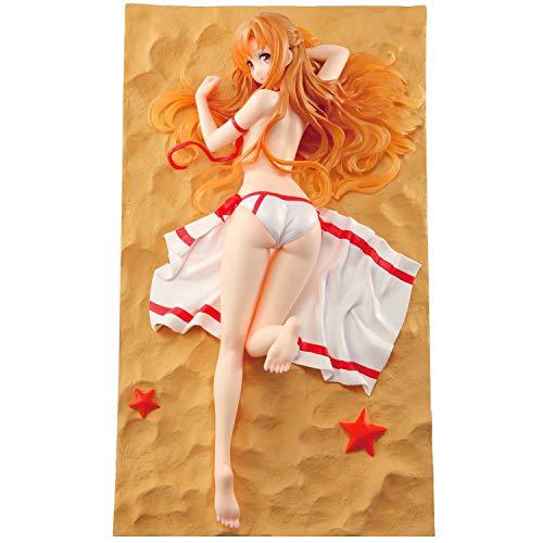BINGFENG Sword Art Online Anime Figuren Yuuki Asuna Charakter Erwachsenes Spielzeug Figuren Modell Cosplay PVC Handgemachte Statue Sammler Dekoration Boxed Geschenk Red-16CM