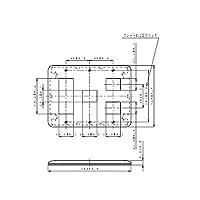 パナソニック(Panasonic)ワイド21コンP簡易耐火6コ用3+1+2 WTF7776G